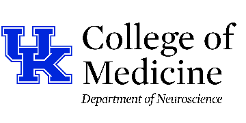 University of Kentucky -- Department of Neuroscience logo