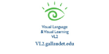 VL2 at Gallaudet University logo